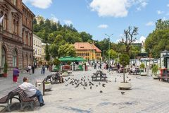 Brasov city, Romania Stock Photos