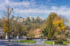 Brasov city stock photography