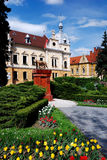 brasov cityhall Ρουμανία στοκ εικόνες