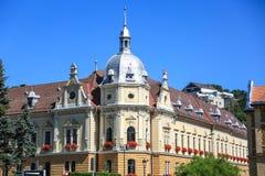 Brasov Cityhall Fotografia Stock Libera da Diritti