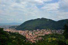 Brasov cityscape Fotografering för Bildbyråer