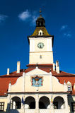 Brasov - The Council House. Located in the central part of Romania, Brasov provides a mix of wonderful mountain scenery and medieval history with German stock photos