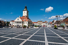 Brasov Council Square Stock Images