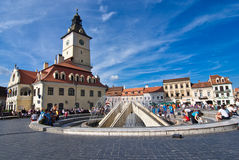 Brasov Council Square Stock Photos
