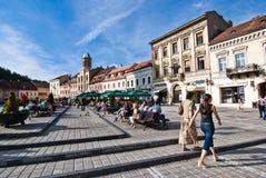 Brasov Council Square stock photo