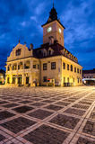 Brasov Council Square, Brasov landmark Royalty Free Stock Photo