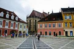 Brasov Council Square Stock Photo