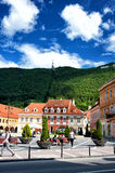 Brasov Council Square (Piata Sfatului)   the main square of Brasov Royalty Free Stock Photos