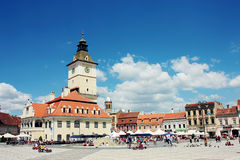 Brasov Council Square Royalty Free Stock Images