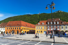 Brasov, Council Square, Romania Royalty Free Stock Image
