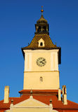 Brasov, Council Square tower Stock Image