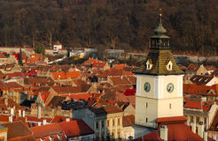 Brasov, Council Square tower, Romania Stock Photography