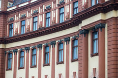 Brasov County Council building which is an important historic monument in Transylvania Stock Photography