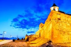 Brasov - cytadela, średniowieczni fotress w Transylvania, Rumunia Fotografia Stock