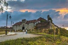 Brasov cytadela, Rumunia Obraz Royalty Free