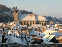 Brasov, Czarny kościół Zdjęcie Royalty Free