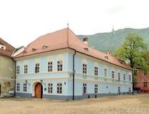 Brasov cziegler huis Stock Afbeeldingen