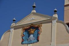 Brasov emblem royaltyfria bilder