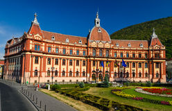 Brasov, former Justice Palace. Romania Stock Photos