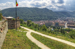 Brasov fortress Royalty Free Stock Photo