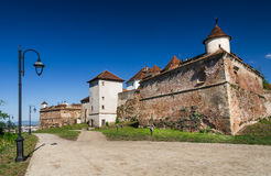 Brasov Fortress, Romania Stock Photo