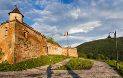 Brasov Fortress, Romania Royalty Free Stock Image