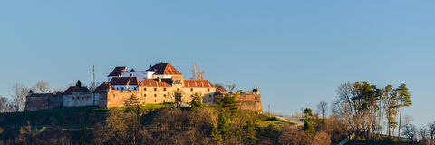 Brasov fortress in Transylvania, Romania Royalty Free Stock Images