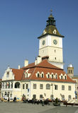 brasov główny plac Zdjęcia Stock
