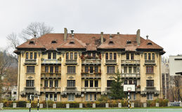 Brasov gheorghe dima park building Royalty Free Stock Photography