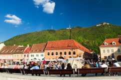 Brasov - Historic city center Royalty Free Stock Photo