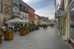 Brasov Historical Center Stock Image