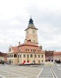 Brasov historiemuseum Arkivbild