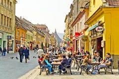 Brasov historische Mitte Lizenzfreie Stockbilder