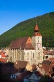 Brasov - igreja preta Foto de Stock