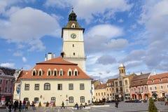 Brasov - il centro urbano Immagine Stock