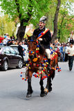 Brasov Junes Parade, may 2011 stock photography