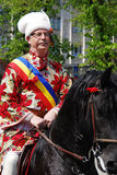 brasov juni游行罗马尼亚 库存图片