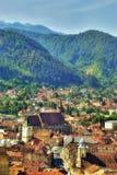 Brasov - la Romania Fotografie Stock Libere da Diritti