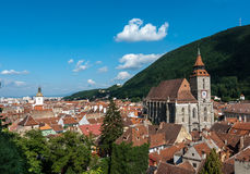 Brasov landmark - Black church Royalty Free Stock Photography