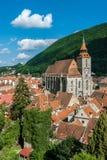 Brasov landmark - Black church stock image