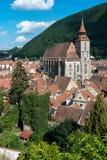 Brasov landmark - Black church stock images