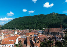 Brasov landmark - Black church Stock Image