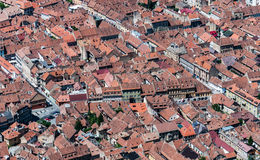 Brasov landmark - old city overview Stock Photography