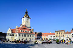 Brasov Main Square Royalty Free Stock Image