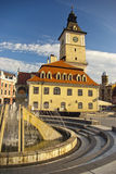 Brasov main square detail Royalty Free Stock Image