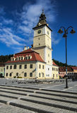 Brasov medieval center with Council House, Romania Royalty Free Stock Photography