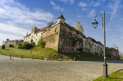 Brasov Medieval Citadel Royalty Free Stock Photos