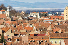 Brasov Medieval City Royalty Free Stock Photography