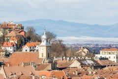 Brasov Medieval City Royalty Free Stock Photos