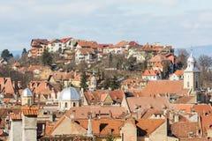 Brasov Medieval City Stock Image